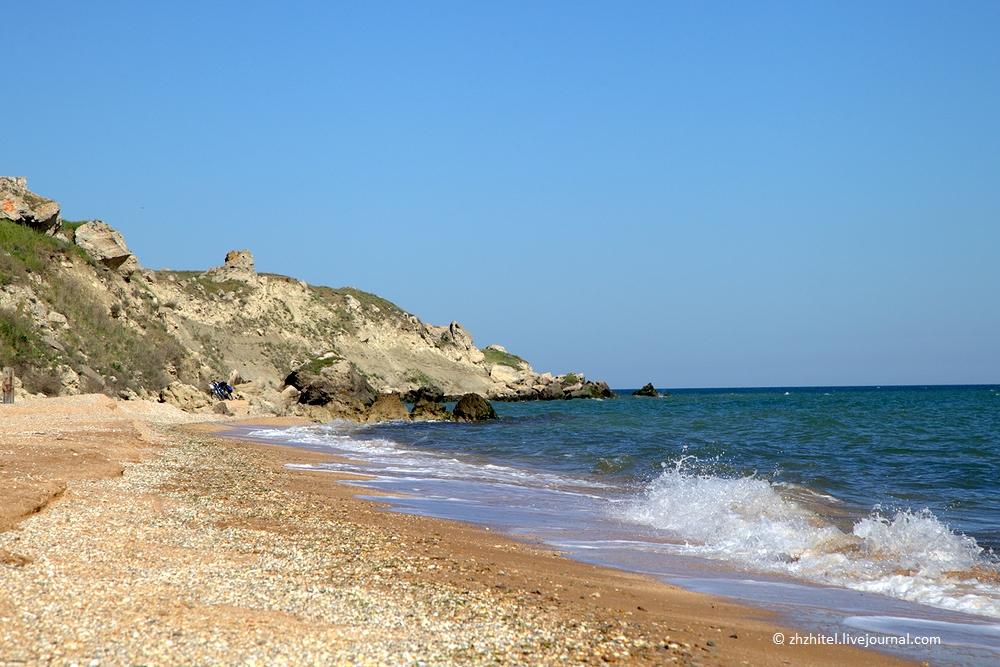 Мама Русская и Генеральские пляжи в Крыму